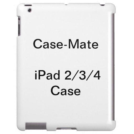 Personalized CaseMate iPad 2, 3, & 4 Case