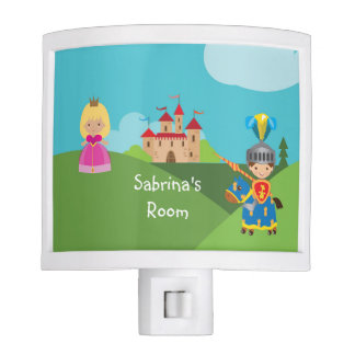 Personalized Castle Knight Night Light