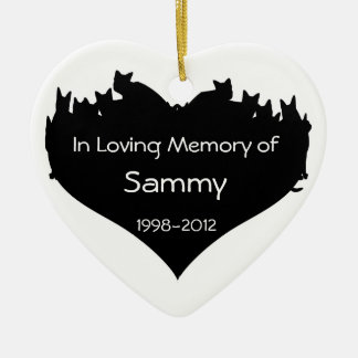 Personalized Cat Memorial Ornament