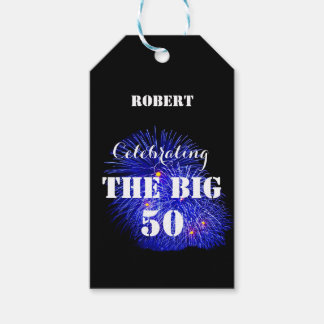 Personalized Celebrating THE BIG 50 - Gift Tags