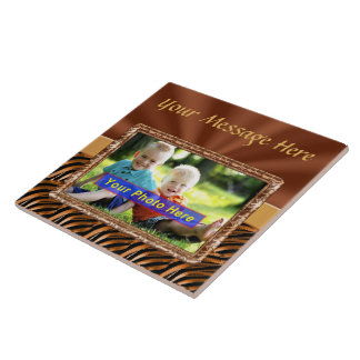 Personalized Ceramic Photo Trivet with YOUR PHOTO