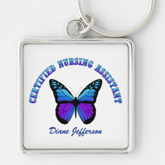 Personalized: Certified Nursing Assistant Keychain