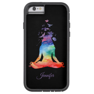 Personalized Chakra Lotus Yoga iPhone Otterbox Tough Xtreme iPhone 6 Case