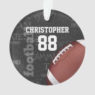 Personalized Chalkboard American Football