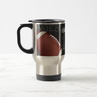 Personalized Chalkboard American Football Mug