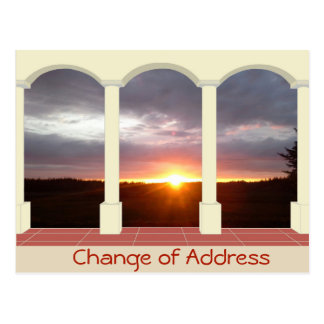 Personalized Change of Address Postcard