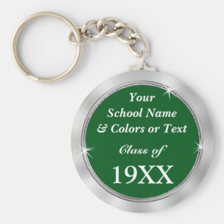 Personalized CHEAP Class Reunion Souvenir Ideas Basic Round Button Keychain