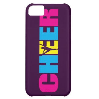 Personalized Cheer Cheerleading Purple Case For iPhone 5C