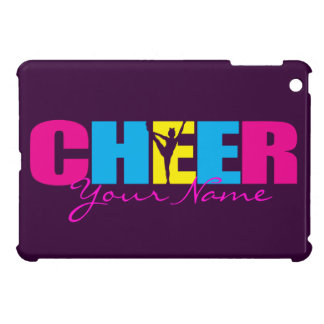 Personalized Cheer Cheerleading Purple iPad Mini Case