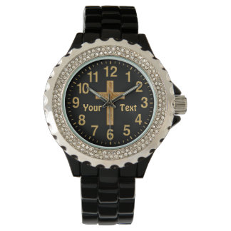 Personalized Christian Gifts for Women Cross Watch
