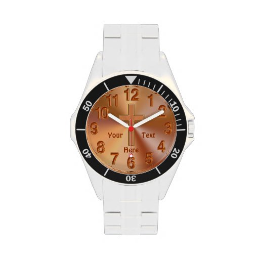 Personalized CHRISTIAN Watches for Men with CROSS
