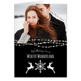 Personalized Christmas Cards - Winter Wonderland