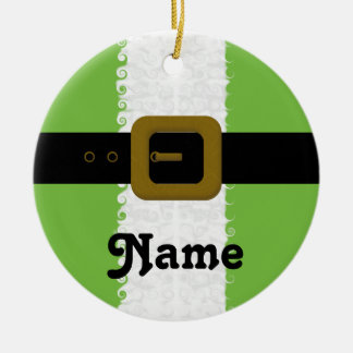 Personalized Christmas Elf Ornament