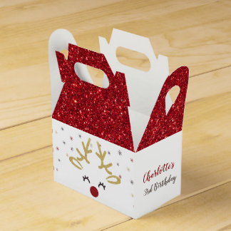 Personalized Christmas Favour Boxes