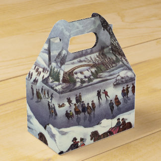 Personalized Christmas Gable Box Central Park USA