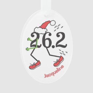 Personalized Christmas Holiday 26.2 Funny Marathon