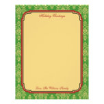 Personalized Christmas Holiday Stationary Paper Customized Letterhead