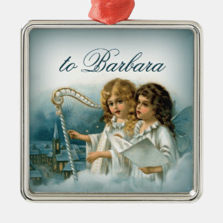 Personalized Christmas Ornament Angels Church
