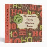 Personalized Christmas Photo Album Binder