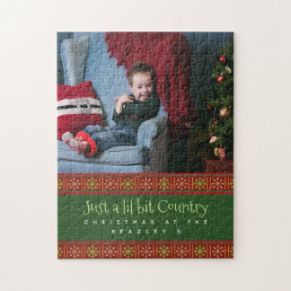 PERSONALIZED CHRISTMAS PUZZLE