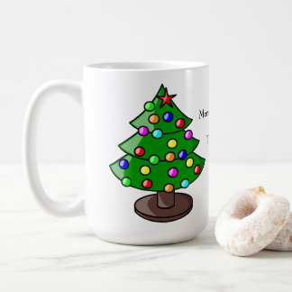 Personalized Christmas Tree Gift Mug