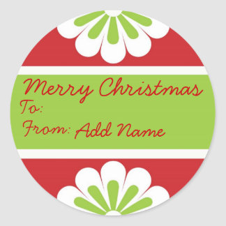 Personalized Christmast Gift Labels