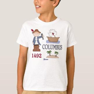 Personalized Christopher Columbus History Buff Shirt