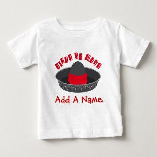 Personalized Cinco De Mayo Baby Tee Shirt