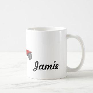 Personalized Classic Car Gifts Basic White Mug