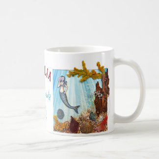 """Personalized Classic Mug """"Mermaids are Real"""""""