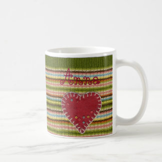 Personalized Classic Mug with Knitted Pattern