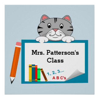 Personalized Classroom Posters