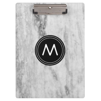 Personalized Clipboard Marble Pattern |Monogrammed