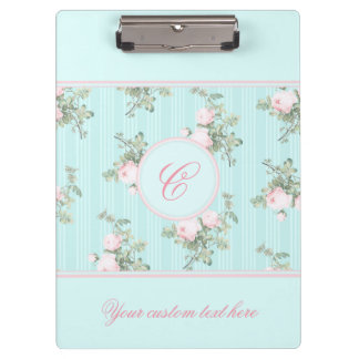 Personalized clipboard shabby chic add your text