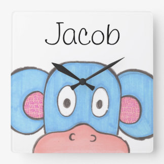 Personalized Clock for Kids - Animal Theme