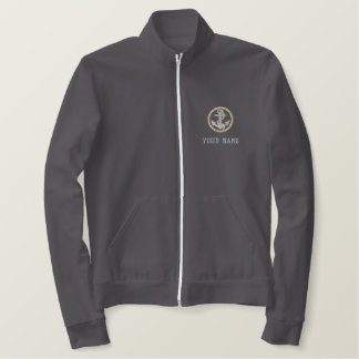 Personalized Coast Guard Track Jacket
