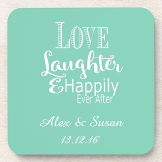 Personalized Coasters Wedding Favors -