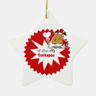 Personalized Cockapoo Keepsake Ornament