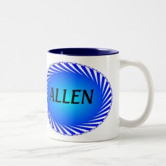 Personalized Coffe Muge - Allen Two-Tone Coffee Mug
