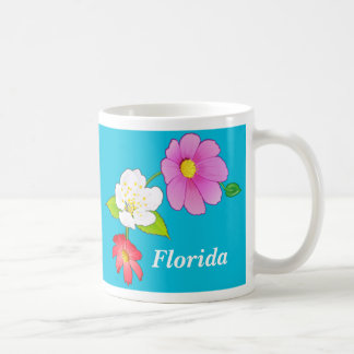 Personalized Coffee Cups Tropical Pretty Mugs