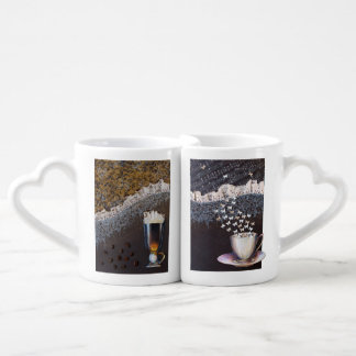 Personalized Coffee Mug Set for Coffee Lovers