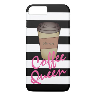 Personalized Coffee Queen Phone Case