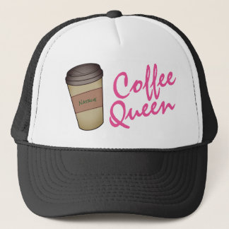 Personalized Coffee Queen Trucker Hat