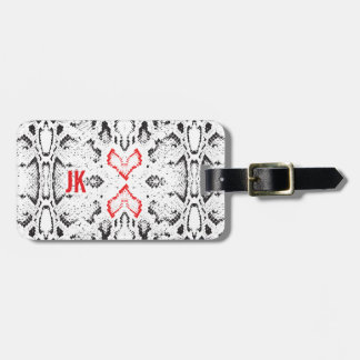 Personalized Cold Heart Luggage Tag