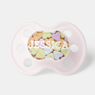 Personalized Colorful Candy Unique Baby Pacifier