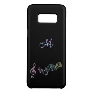 Personalized Colorful Music Notes Galaxy S8 Case
