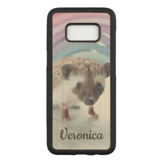 Personalized Colorfully Tiny Hedgehog Carved Samsung Galaxy S8 Case