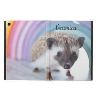 Personalized Colorfully Tiny Hedgehog Cover For iPad Air