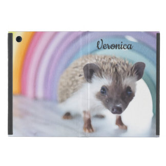 Personalized Colorfully Tiny Hedgehog iPad Mini Cover