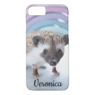 Personalized Colorfully Tiny Hedgehog iPhone 8/7 Case